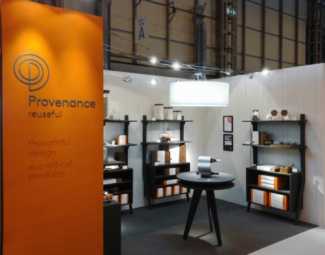 Provenance: exhibition stand