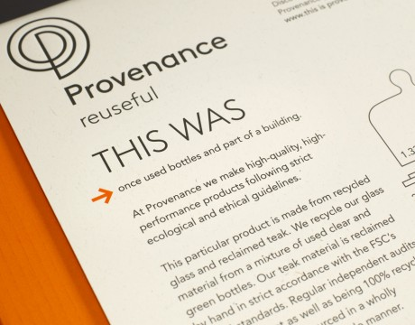 Provenance: branding